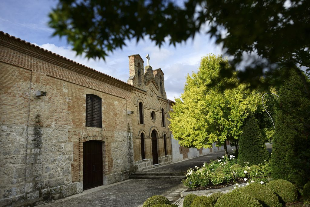 "The oldest building at Vega Sicilia, one of Spain's oldest and most prestigious wineries, in Valbuena de Duero, Spain, July 6, 2014. A pitched battle for control of Vega Sicilia and other assets built up by David Alvarez, now 87, has for years captivated the Spanish press, which likens the row to the soap opera ""Falcon Crest."" (Samuel Aranda/The New York Times) -- PHOTO MOVED IN ADVANCE AND NOT FOR USE - ONLINE OR IN PRINT - BEFORE JULY 20, 2014."