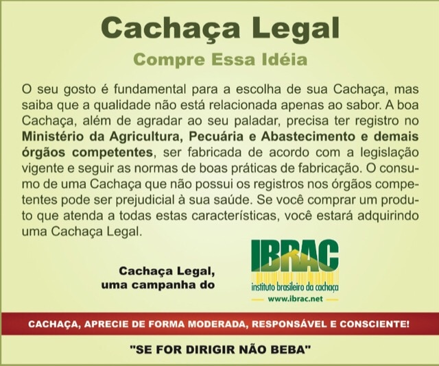 Cachaça Legal IBRAC